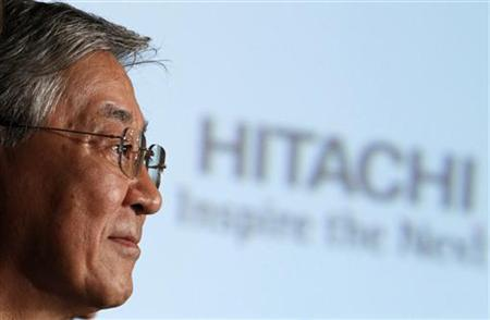 Hiroaki Nakanishi, president of Japanese electronics company Hitachi, attends a news conference at the Foreign Correspondents' Club of Japan in Tokyo September 13, 2010. REUTERS/Issei Kato