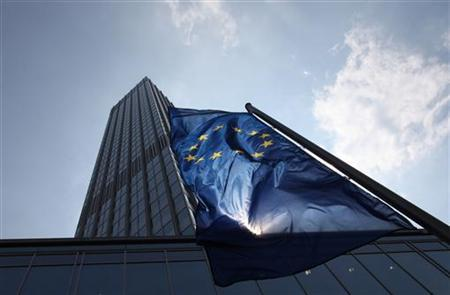 The ECB headquarters is pictured in Frankfurt, August 4, 2011. REUTERS/Ralph Orlowski