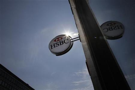 A bank branch of HSBC is seen in central London August 1, 2011. REUTERS/Stefan Wermuth