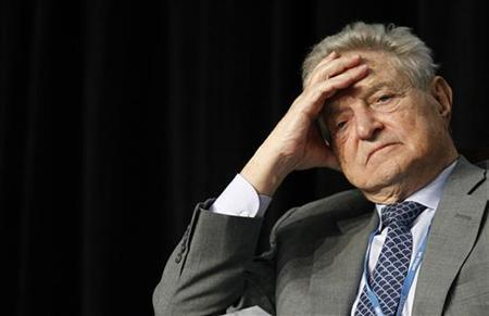 Chairman of Soros foundation George Soros attends the Avoided Deforestation Partners organization conference on a sidelines of the UN climate talks in Cancun December 8, 2010. REUTERS/Jorge Silva