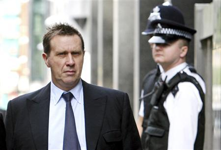 Clive Goodman, suspended News of The World royal correspondent, arrives at the City of Westminster Magistrates Court in central London in this August 16, 2006 file photo. REUTERS/Alessia Pierdomenico/Files
