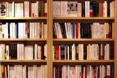 <p>Books are displayed at the annual Paris book fair in this March 14, 2008 file photo. REUTERS/Charles Platiau</p>