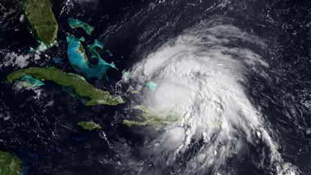 Hurricane Irene in a satellite image taken August 23, 2011. REUTERS/NOAA