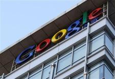 <p>Google a accepté de verser 500 millions de dollars en échange de l'abandon de poursuites sur la diffusion aux Etats-Unis de publicités pour des sites canadiens de vente de produits pharmaceutiques. /Photo d'archives/REUTERS</p>