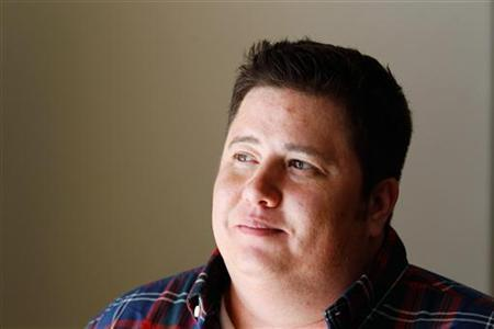 Chaz Bono poses for a portrait while promoting the film ''Becoming Chaz'' during the Sundance Film Festival in Park City, Utah January 23, 2011. REUTERS/Lucas Jackson