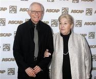 <p>Alan and Marilyn Bergman at the 26th annual ASCAP Pop Music Awards in Hollywood, April 22, 2009. REUTERS/Fred Prouser</p>