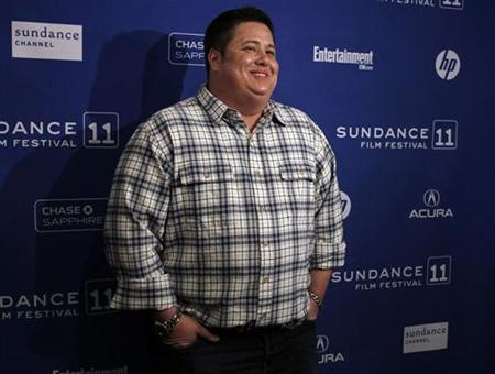 Cast member Chaz Bono poses for the media before the screening of the film ''Becoming Chaz'' during the Sundance Film Festival in Park City, Utah January 23, 2011. REUTERS/Jim Urquhart