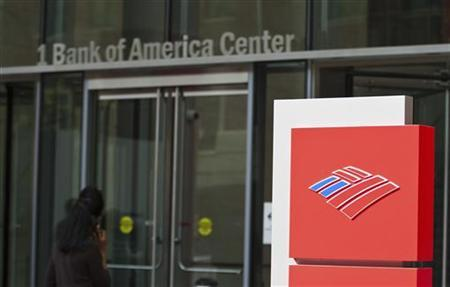 A Bank of America shareholder walks into the corporate headquarters prior to the start of the Bank of America annual shareholders meeting in Charlotte, North Carolina May 11, 2011. REUTERS/Chris Keane