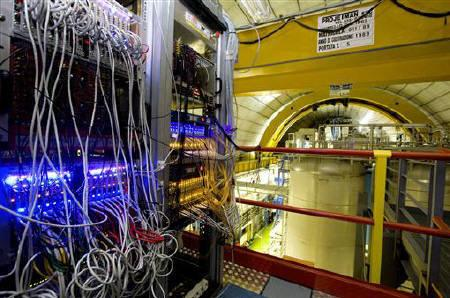 A general view of the detector ''OPERA'' at the LNGS (Gran Sasso National Laboratory) near L'Aquila, central Italy in this undated handout photograph. REUTERS/CERN-INFS/Handout