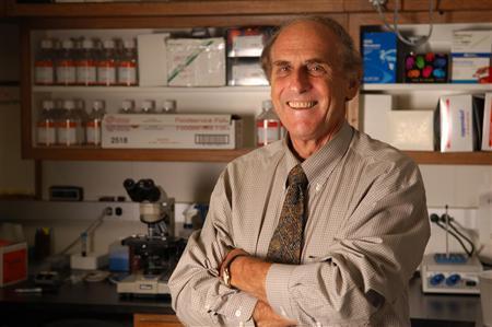 Nobel prize for medicine winner Canadian-born Ralph Steinman. REUTERS/Zach Veilleux/Rockefeller University