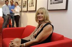 "<p>U.S. actress and photographer Jessica Lange poses at her exhibition ""unseen"" at the Niemeyer Center of Aviles, northern Spain, September 10, 2011. REUTERS/Eloy Alonso</p>"