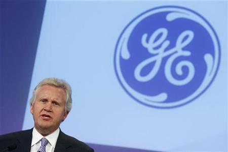 General Electric Chief Executive Officer Jeffrey Immelt speaks at a news conference in New York, October 21, 2009. REUTERS/Mike Segar