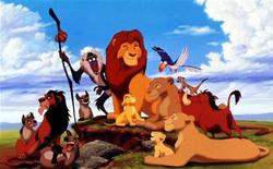 "<p>The characters in the new animated film from the Walt Disney Company ""The Lion King"" are shown in this photograph. REUTERS</p>"