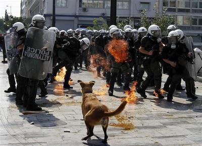 Greek fury