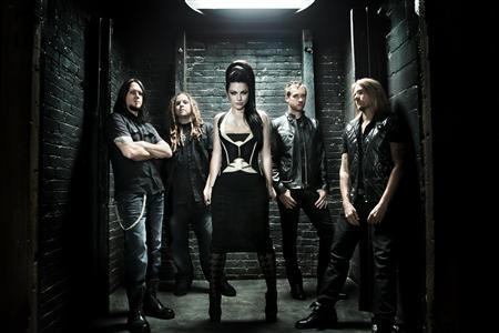 Evanescence is shown in the undated publicity photo released to Reuters October 6, 2011. On October 11, Evanescence releases the 12-track collection produced by Nick Raskulinecz, known for his work with Alice in Chains and Foo Fighters. Frontwoman Amy Lee told Reuters the new record is more collaborative than the band's previous two. REUTERS/Wind-up Records/Handout