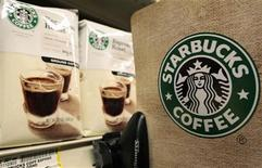 <p>Packets of Starbucks coffee are seen in a supermarket in Santa Monica, California, January 27, 2011. REUTERS/Lucy Nicholson</p>