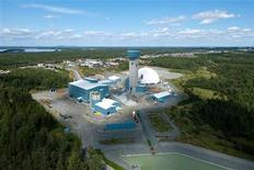 <p>An aerial view of Agnico-Eagle's Goldex mine in Val d'Or, Quebec. REUTERS/Handout</p>