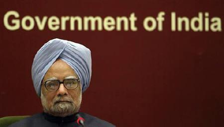 Prime Minister Manmohan Singh attends the Indian labour conference in New Delhi November 23, 2010. REUTERS/B Mathur/Files