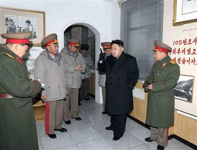 North Korea calls for ''human shields'' to protect new...