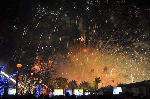 Fireworks explosion in Thailand