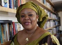 <p>Nobel Peace Prize winner Leymah Gbowee poses in New York October 7, 2011. REUTERS/Shannon Stapleton</p>