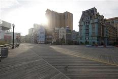 <p>The boardwalk at Atlantic City, August 26, 2011. REUTERS/Jason Reed</p>