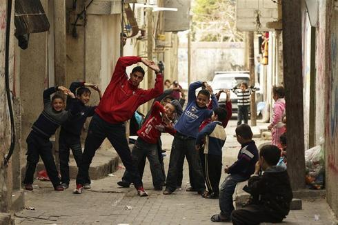 Olympic hopes in Gaza