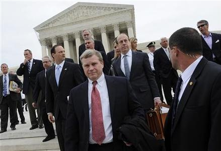 states challenging the Obama health care law before the Supreme Court ...