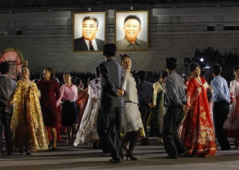 Pageantry in Pyongyang