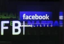 <p>Facebook est l'une des valeurs à suivre sur les marchés américains. /Photo prise le 18 mai 2012/REUTERS/Shannon Stapleton</p>