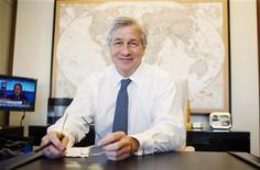 """<p>Les récentes pertes de trading de JPMorgan Chase constituent un incident isolé et la banque devrait rester """"solidement bénéficiaire"""" au deuxième trimestre, assurera mercredi son PDG Jamie Dimon devant le comité bancaire du Sénat américain. /Photo d'archives/REUTERS/Lucas Jackson</p>"""