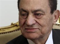 إصابة مبارك بأزمة قلبية وجلطة