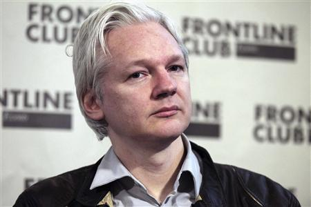 WikiLeaks founder Julian Assange speaks at a news conference in London in this February 27, 2012 file photo. REUTERS/Finbarr O'Reilly/Files