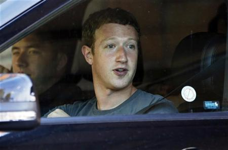 Facebook Chief Executive Officer Mark Zuckerberg attends the Allen & Co Media Conference in Sun Valley, Idaho July 12, 2012. Reuters/Jim Urquhart
