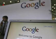 <p>Les autorités de la concurrence européennes ont accepté les nouvelles concessions proposées par Google pour régler à l'amiable une enquête pour abus de position dominante. L'exécutif européen n'a pas donné de détail sur le contenu des dernières concessions proposées par Google. /Photo d'archives/REUTERS/Krishnendu Halder</p>