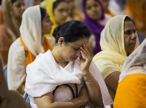 Funeral for slain Sikhs
