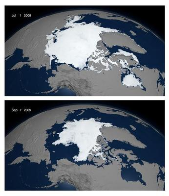 Disappearing Arctic