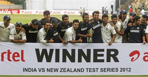 India vs New Zealand - Bangalore test