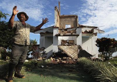 Quake hits Costa Rica