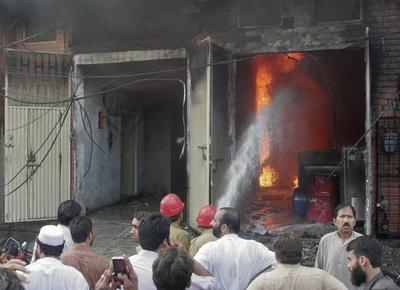 Deadly fires in Pakistan