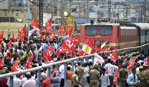 Anti-govt protests across India