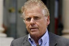 <p>Daniel Cohn-Bendit suspend sa participation à Europe Ecologie-Les Verts (EE-LV) pour protester contre la décision du mouvement de se prononcer contre la ratification du traité budgétaire européen. /Photo prise le 25 juin 2012/REUTERS/Benoît Tessier</p>