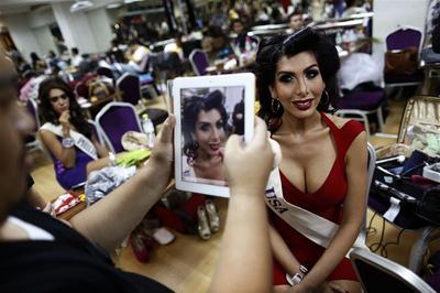 Transgendered beauties