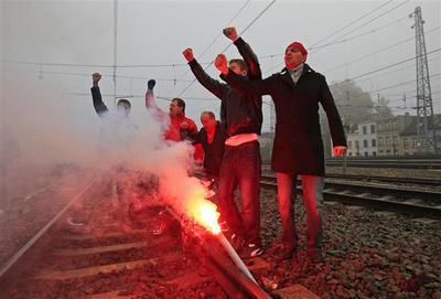 Europe on strike