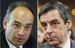 <p>François Fillon et Jean-François Copé ont entamé lundi des négociations pour tenter de trouver un compromis sur les modalités d'un nouveau vote pour la présidence de l'UMP, deux semaines après l'élection contestée. /Photo d'archives/REUTERS/Mal Langsdon/Robert Pratta</p>