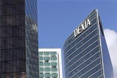 <p>La banque franco-belge Dexia a annoncé mardi être entrée en négociations exclusives avec le fonds de capital-investissement asiatique GCS Capital pour la vente de sa filiale de gestion d'actifs Dexia Asset Management (Dexia AM). /Photo d'archives/REUTERS/Benoît Tessier</p>