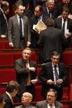 <p>Le groupe formé par François Fillon à l'Assemblée nationale s'est officiellement doté mardi d'un temps de parole, entérinant la rupture entre l'ancien Premier ministre et Jean-François Copé même si les négociations se poursuivent. /Photo prise le 4 décembre 2012/REUTERS/Charles Platiau</p>