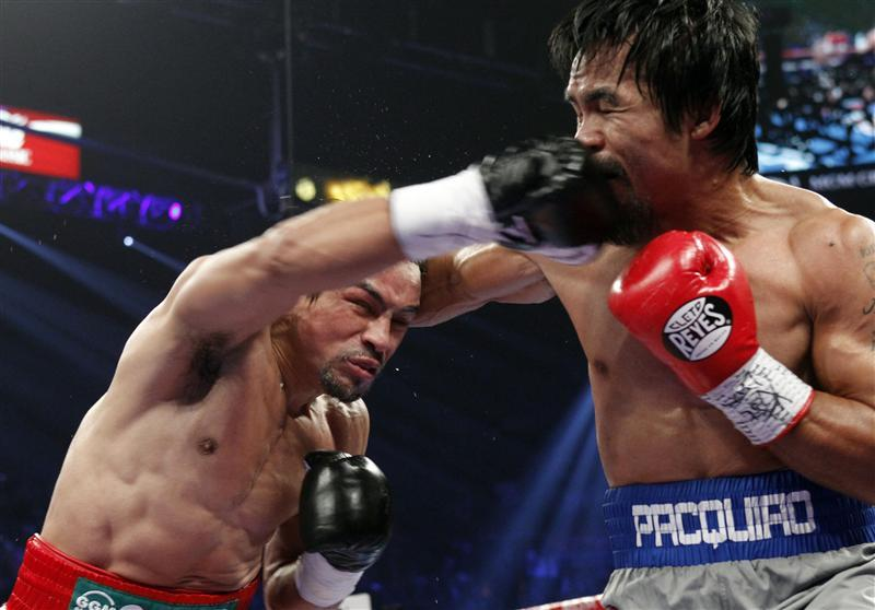 Pacquiao knocked out