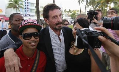 John McAfee: founder and fugitive