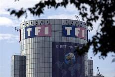 <p>TF1 est en repli de 4% au lendemain d'un bond de 5,44% qui a fait suite à l'annonce d'un possible rachat par Discovery Communications de 20% d'Eurosport au terme de négociations exclusives sur une alliance stratégique menées actuellement par les deux groupes. /Photo d'archives/REUTERS/Charles Platiau</p>
